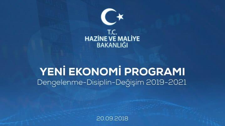 Yeni ekonomi programı YEP açıklandı