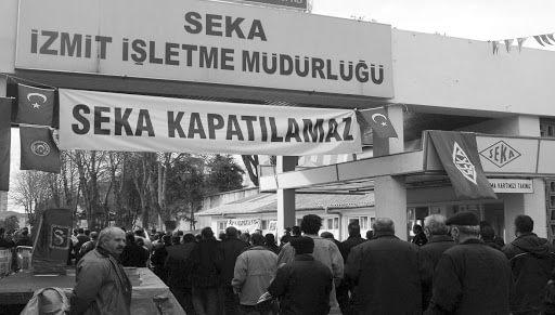 Seka Kağıt Fabrikası'nın Kapatılması