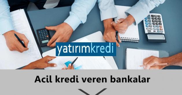 Acil Kredi Almak