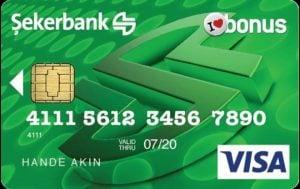 Şekerbank Bonus Kredi Kartı