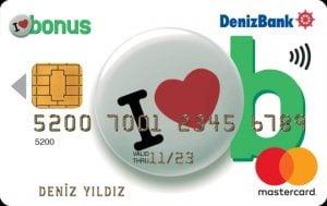 Denizbank Bonus Kart