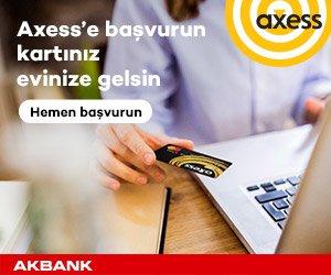 Axess Kredi kartı başvurusu için