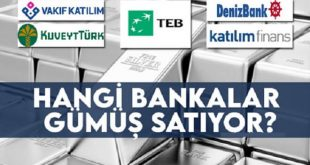 Bankadan Gümüş Nasıl Alınır?